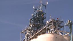 HD2008-9-3-65 modern gran elevator Stock Video Footage