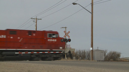 HD2009-4-1-11 freight train Stock Video Footage