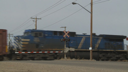 HD2009-4-1-11 freight train Footage