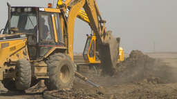 HD2009-4-1-13 backhoe Footage
