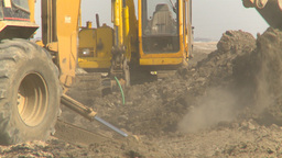 HD2009-4-1-15 backhoe Footage