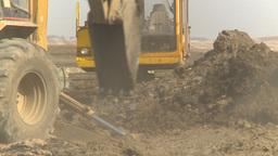 HD2009-4-1-15 backhoe Stock Video Footage