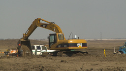 HD2009-4-1-21 backhoe Stock Video Footage
