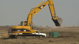 HD2009-4-1-23 backhoe Stock Video Footage
