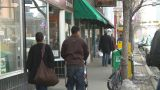 HD2009-4-2-5 People Walking stock footage