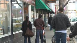 HD2009-4-2-5 people walking Stock Video Footage