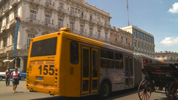 HD2009-4-3-1 Havana traffic Stock Video Footage