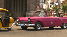 HD2009-4-3-3 Havana traffic Stock Video Footage