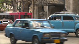 HD2009-4-3-5 Havana traffic Stock Video Footage