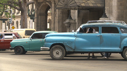 HD2009-4-3-5 Havana traffic Stock Video Footage