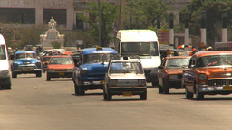 HD2009-4-3-7 Havana traffic Stock Video Footage