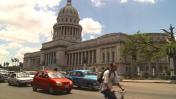 HD2009-4-3-9 Havana traffic Stock Video Footage