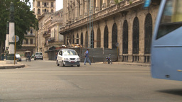 HD2009-4-3-11 Havana traffic Stock Video Footage