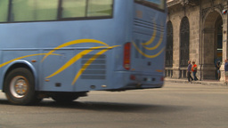 HD2009-4-3-11 Havana traffic Stock Video Footage
