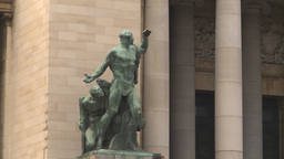 HD2009-4-3-21 Havana capitol statue Stock Video Footage