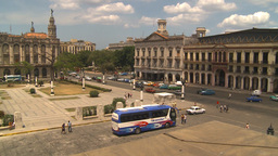 HD2009-4-3-31b Havana traffic Stock Video Footage