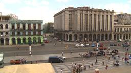 HD2009-4-3-31b Havana traffic Stock Video Footage