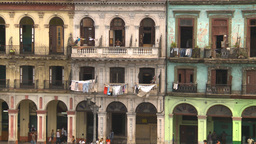 HD2009-4-3-33 Havana apts Stock Video Footage