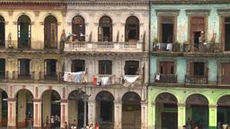 HD2009-4-3-33 Havana apts Stock Video Footage