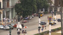 HD2009-4-3-35 Havana traffic Stock Video Footage