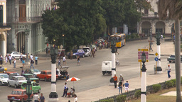 HD2009-4-3-35 Havana traffic Footage
