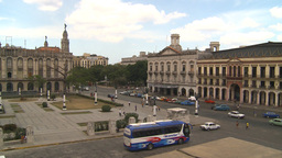 HD2009-4-3-37 Havana traffic Stock Video Footage
