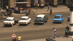 HD2009-4-3-39 Havana traffic Footage
