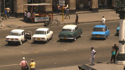 HD2009-4-3-39 Havana traffic Stock Video Footage