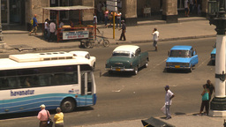 HD2009-4-3-39 Havana traffic Stock Video Footage