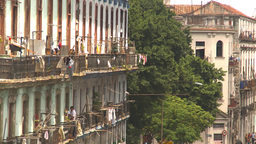 HD2009-4-3-41 Havana apts Stock Video Footage