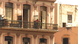 HD2009-4-3-43 Havana apts Stock Video Footage