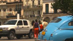 HD2009-4-3-47 Havana traffic Stock Video Footage