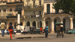 HD2009-4-3-47 Havana traffic Stock Video Footage