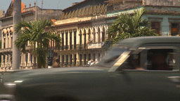 HD2009-4-3-49 Havana traffic Stock Video Footage