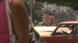 HD2009-4-3-53 Havana traffic Stock Video Footage