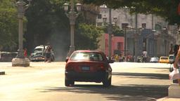 HD2009-4-3-53 Havana traffic Stock Video Footage