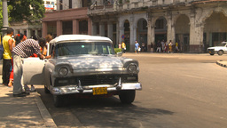 HD2009-4-3-55 Havana traffic Stock Video Footage