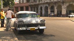 HD2009-4-3-55 Havana traffic Stock Video Footage