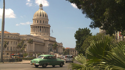 HD2009-4-3-57 Havana capitol Stock Video Footage