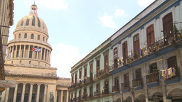 HD2009-4-3-67 Havana capitol Stock Video Footage
