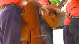 HD2009-4-4-4 Cuba music band Stock Video Footage