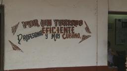 HD2009-4-4-8 Cuba rural sign Footage