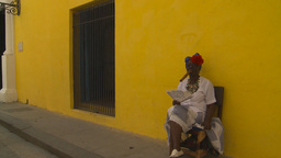 HD2009-4-4-16 Havana old woman and cigar Footage