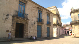 HD2009-4-4-22 Havana Cathedral square Stock Video Footage