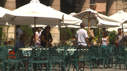 HD2009-4-4-24b Havana cafe Stock Video Footage