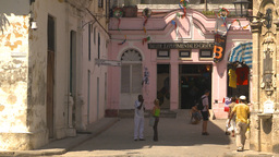 HD2009-4-4-26 Havana street Stock Video Footage