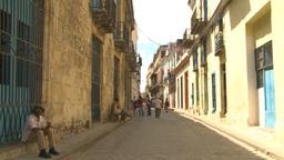HD2009-4-4-30 Havana street Stock Video Footage