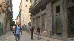 HD2009-4-4-32 Havana street Stock Video Footage