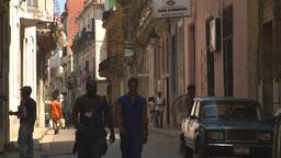 HD2009-4-4-36 Havana street Stock Video Footage