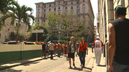 HD2009-4-4-38 Havana street Stock Video Footage